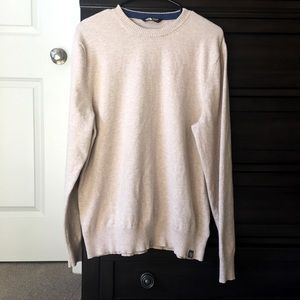 The North Face light beige sweater